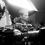 Matty Granger on set