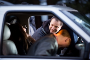 bts peter, julia and david laugh 1
