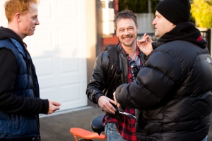 peter directing matty and david