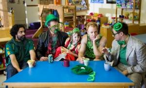 The Dads of PARKED celebrating St. Patrick's